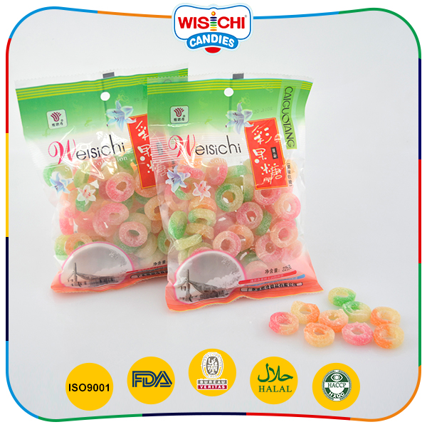 New product low-sugar double colored shantou confectionery