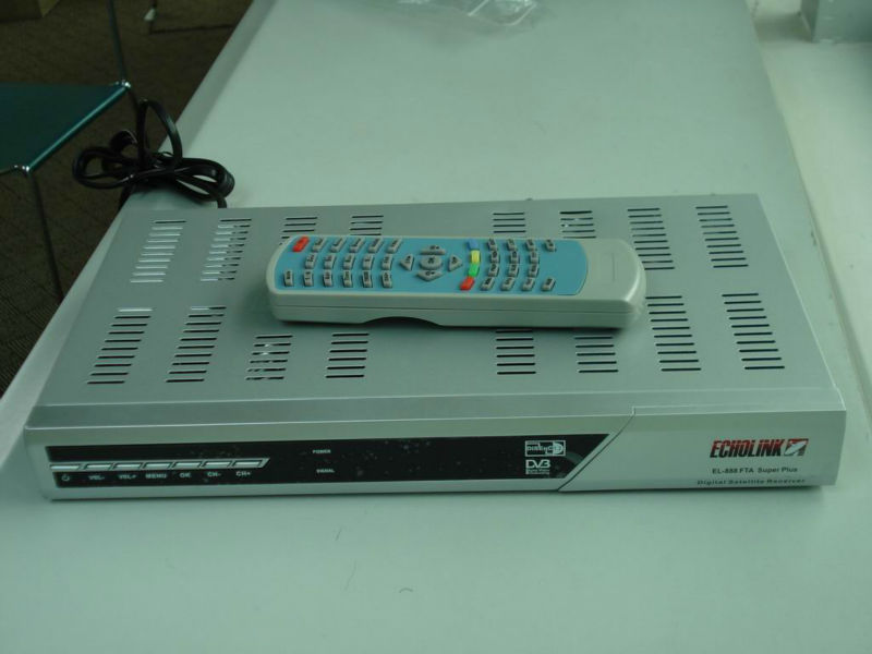 Echolink 888 Fta Satellite Receiver - Buy Digital Satellite  Receiver,Echolink 888,Fta Receiver Product on Alibaba com