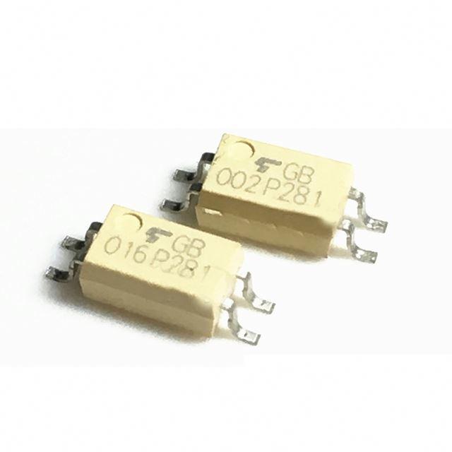 10PCS TLP281-1GB TLP281 P281 SOP-4 Optocouple