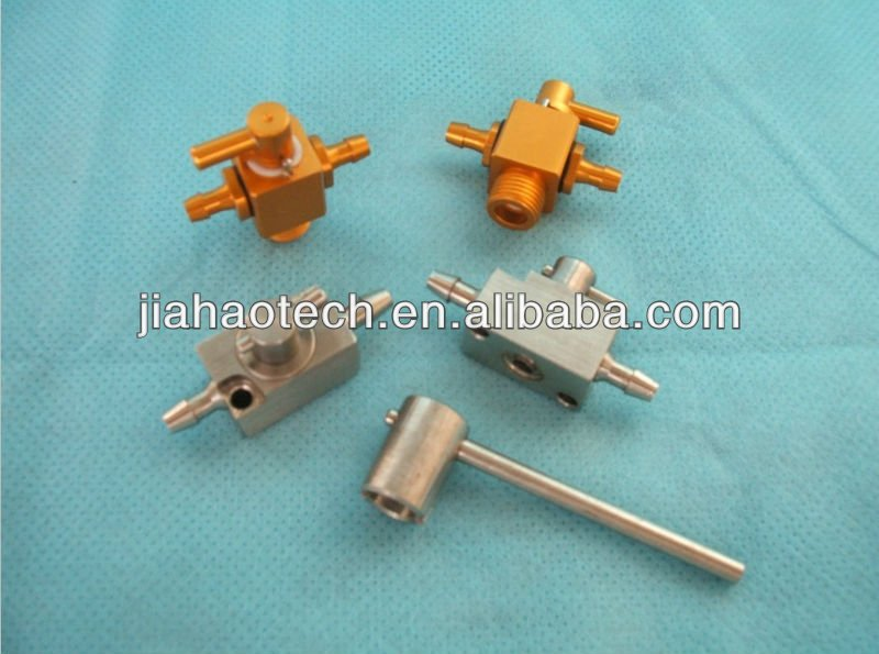 Aluminium 3-way valve for printhead cleaning