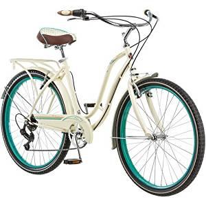 14cb94be4ad Get Quotations · 26 Schwinn Fairhaven Women's 7-speed Cruiser Bike, Cream  by Schwinn