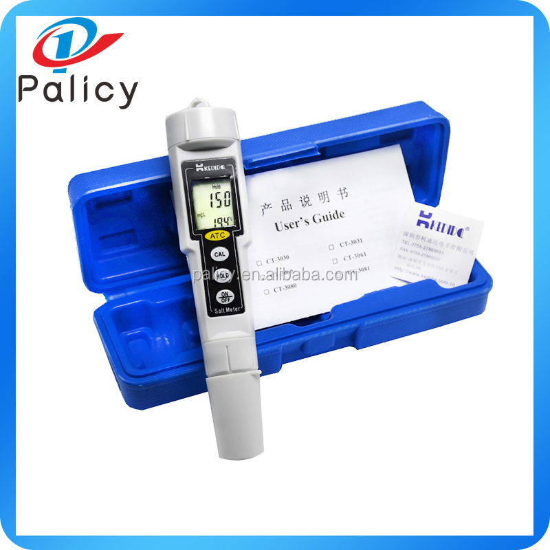 Salinity meter pen type <strong>Temperature</strong> waterproof