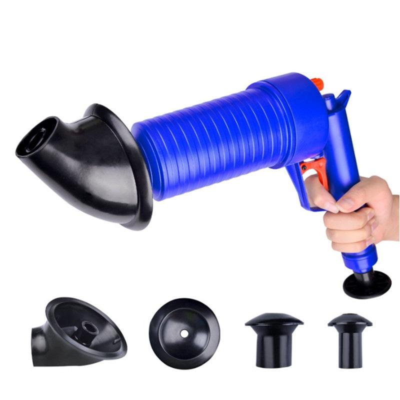 Haus & Garten Clog Kanone Hochdruck Leistungsstarke Manuelle Air Power Ablauf Pumpe Für Bad Wc Küche Waschbecken Plunger Rohr Verstopfen Entferner Abflussreiniger