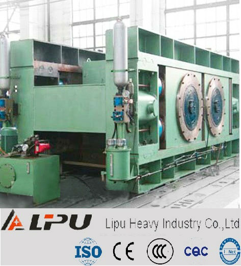 Glass processing machinery heat roller press machine
