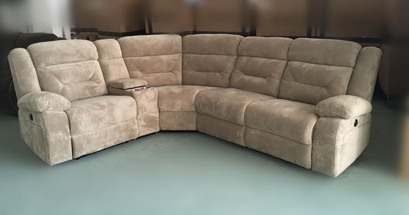 Wooden Big Corner Sofa Design Lazy Boy Sectional Recliner