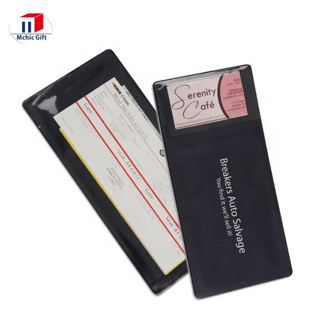 Factory Supply Cheap Pvc Plastic Insurance Card Holder Insurance