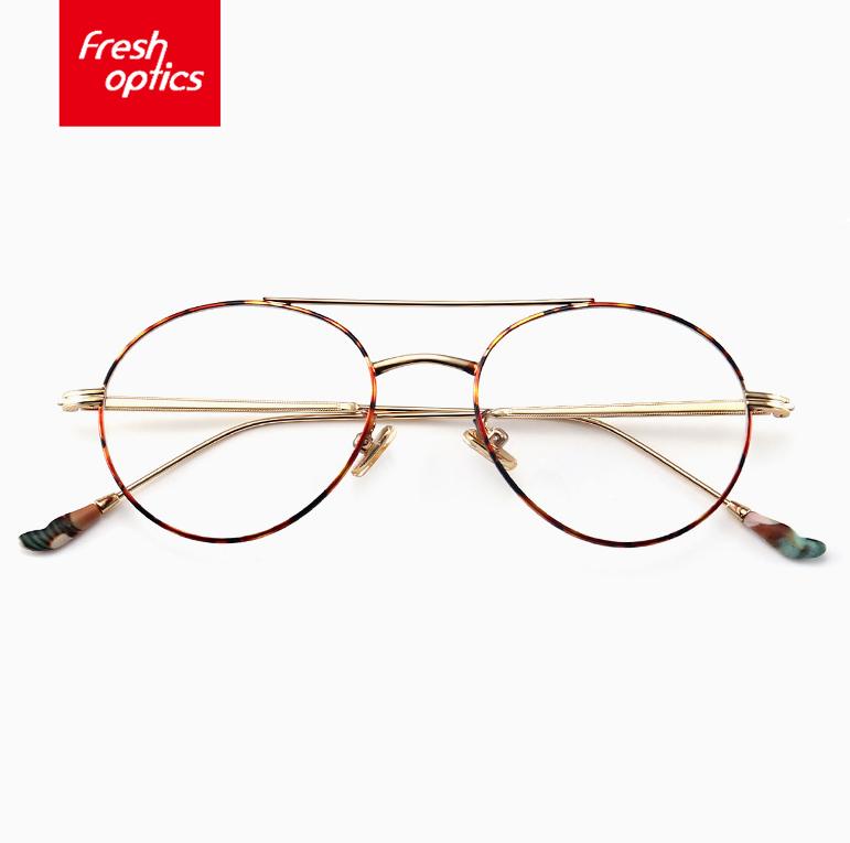 60003 Hot Selling Trendy Black Half Rim Eyewear Metal Spectacle Frames for Men фото