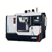 VMC1100 vertical type 4 axis cnc milling center with nc rotary table