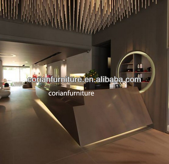Artificial marble surface Reception desks