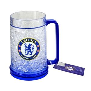 Chelsea Freezer Tankard - Official Football Plastic Mug Fc Club Beer