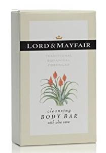 Lord and Mayfair Cleansing Body Bar with Aloe Vera, 2.0 Ounce Bar, Individually Packaged in Paper/Cardboard Cartons, 200 Bars per Case