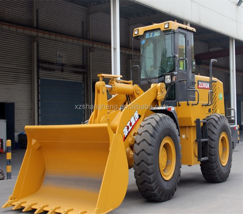China Famous Brand xcmg ZL50G Electric Mini Wheel Loader for sale