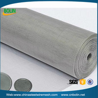 plain/twill/dutch weave ultra fine stainless steel wire mesh/mesh screen fence
