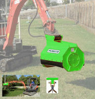 Flail Mower for Diggers mod. DIG FLAIL