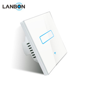 Compatible With Alexa Led WIFI Wireless Control Remote Smart Wall Light Switch 1 Gang 2 Gang 3 Gang mobile control via app
