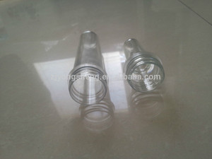 38mm 57g water juice beverage PET preform for blowing different kinds plastic bottles pet preform machine