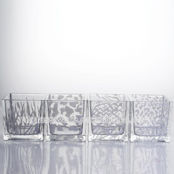florero de cristal con diseo animal en color platafloreros de cristal baratojarrones - Jarrones De Cristal