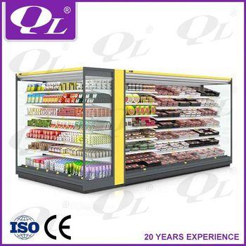 Supermarket Open Display Refrigerator Guangzhou Factory ...