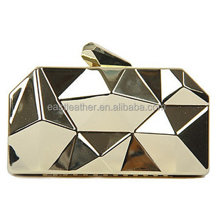 N159 clutch bags india wholesale fashionable gold clutch bag