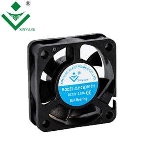 plastic 5v 10000rpm dc cooling fan 30mm low voltage magnetic ball bearing fan