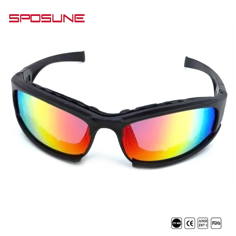 China Factory Foam Impact-resistance ANSI Airsoft ballistic sunglasses military goggles