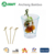 Knotted natural bamboo flag skewer For Food