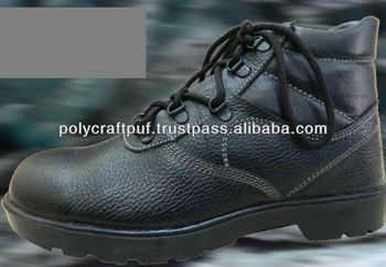 Steel Toe PU safety shoes for industrial worker india