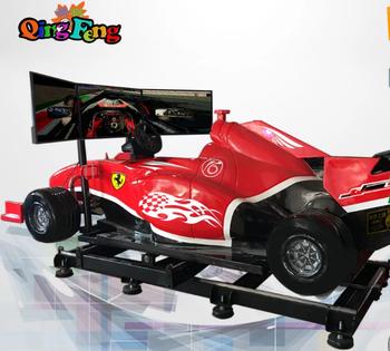 F1 Car Driving Vr Simulator With 3 Screens Car Racing Game Machines - Buy  F1 Car Race Simulator,Car Racing Game Machines,Vr Racing Simulator Product