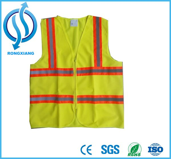 High Visibility Workwear Reflective running gear airport safety vest