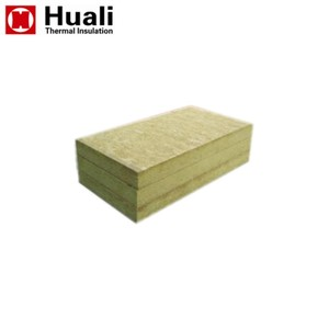 High quality 100mm thickness 150kg/m3 density rockwool insulation panel