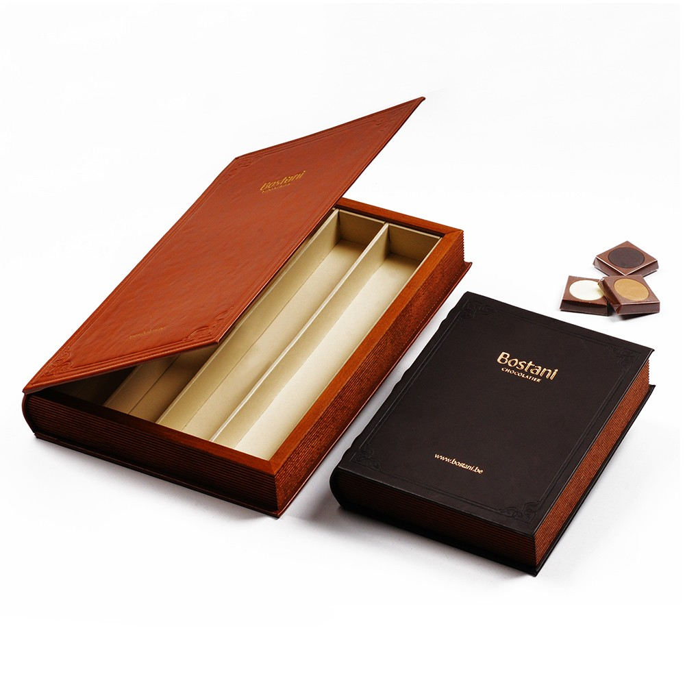 food safe beech solid wood book box for chocolate