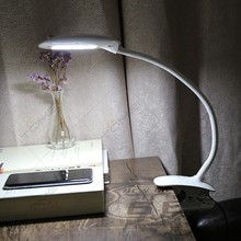 Modern Flexible Adjustable Mini LED Clip Book Light Lamp for The Reading Bedroom