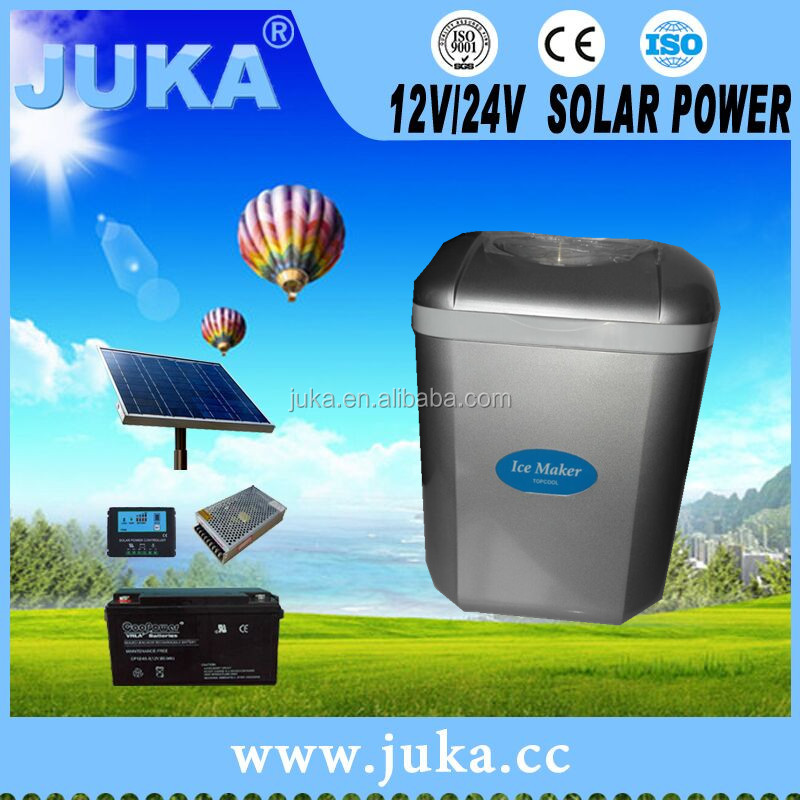Juka Hangzhou Solar ice maker car ice maker mini ice maker