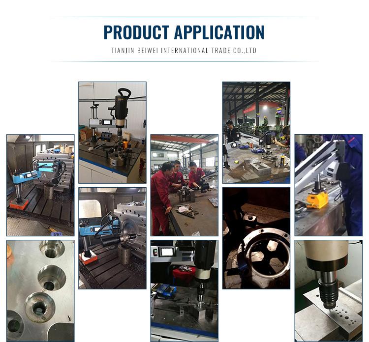 Çin fabrika yüksek tork servo elektrikli kılavuz çekme makinesi M6-M36 elektrikli kılavuz çekme makinesi