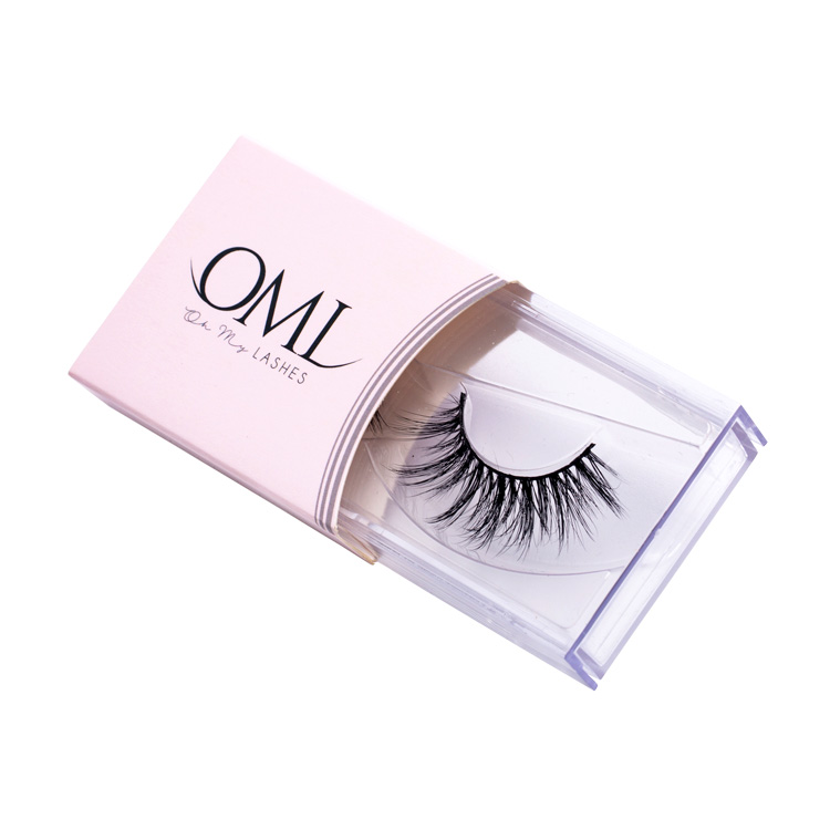False Eyelashes Crown Lashes 3d Mink Eyelashes Vendor Eyelash Packaging Box Custom Logo False Eyelash Clear And Distinctive Beauty Essentials