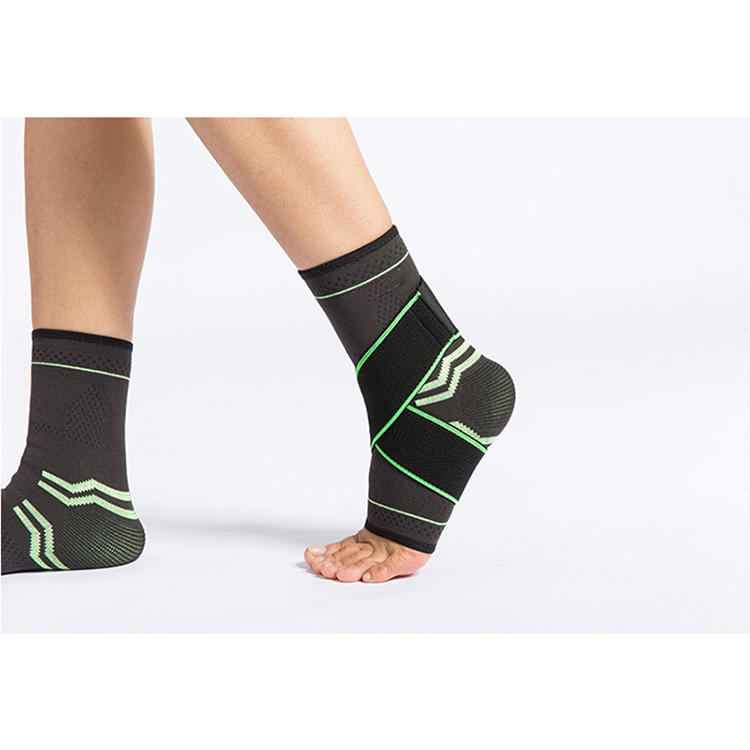High quality sport support neoprene compression adjustable CE ankle support