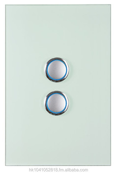 Clixmo Divine 2 Gang 2 Way Light Switch Australian Au Standard Saa