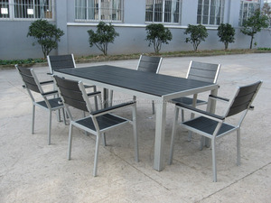 Aluminum Recycled Polywood Furniture Plastic Unconditionally Weather-Resistant Garden Furniture