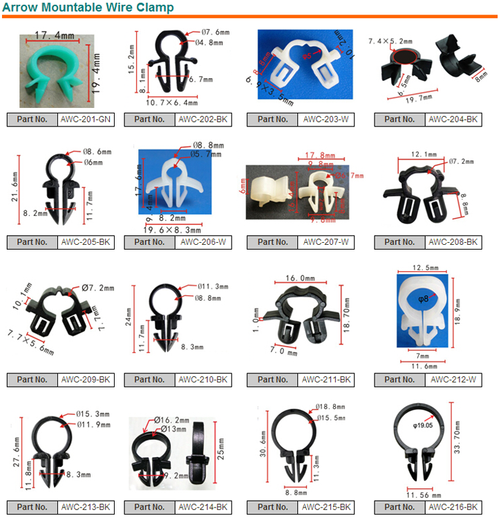 Outstanding Auto Plastic Wire Clip Automotive Fasteners Plastic Auto Clips For Wiring Digital Resources Helishebarightsorg