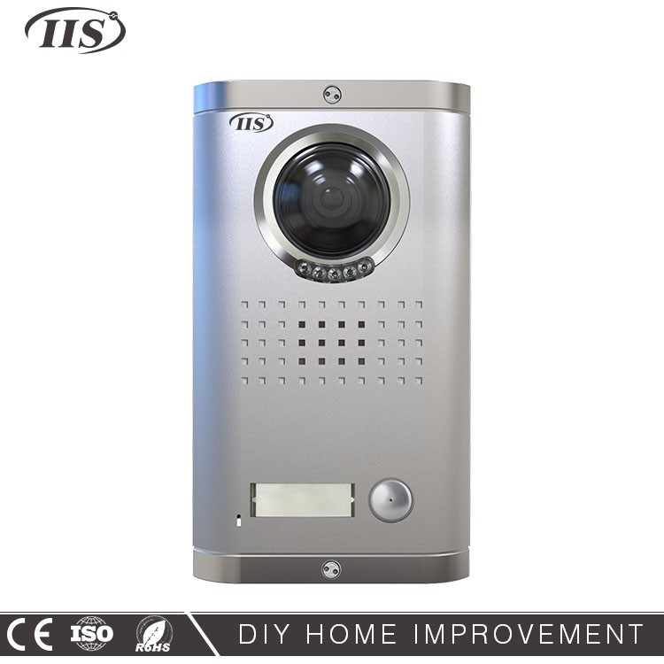 4 Wire Front Door Multi-user Video Intercom System Supplier