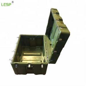 23L Durable Heavy Duty Plastic Box For Military Storage