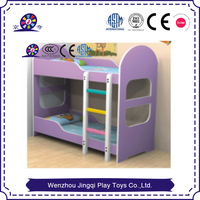 children double-decker for home and school use buck bed for preschool
