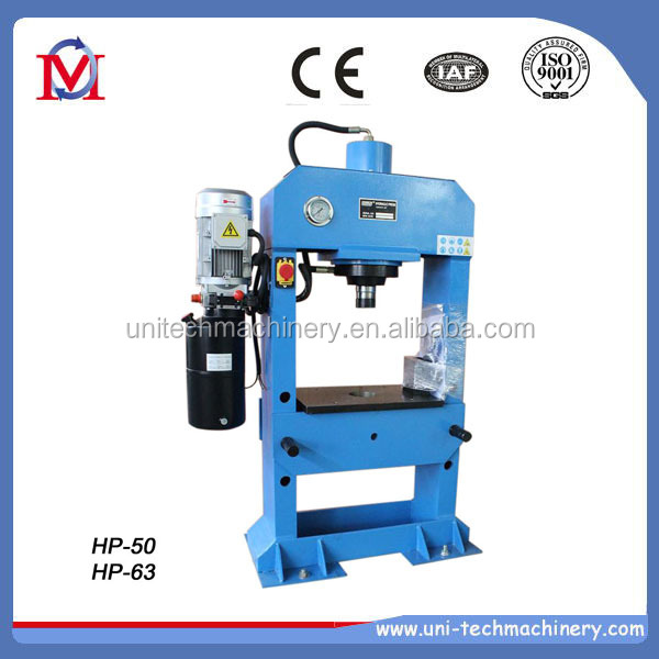 H frame HP30T, HP50T, HP100T electric hydraulic press
