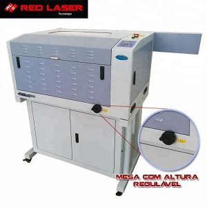 RL-J6040 High speed 60W CO2 CNC laser cutting machine for Metal Acrylic Wood