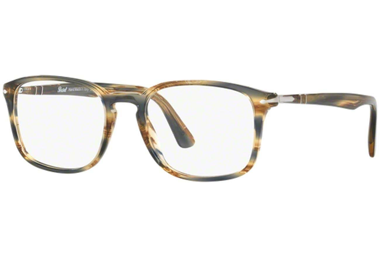4db35c21ab213 Get Quotations · Eyeglasses Persol PO 3161 V 1049 STRIPED BROWN GREY