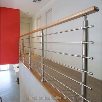 Balcony stainless steel grill design steel rod railing for Stainless steel balcony grill design