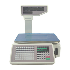 Digital 30KG barcode label printing electronic weighing scale