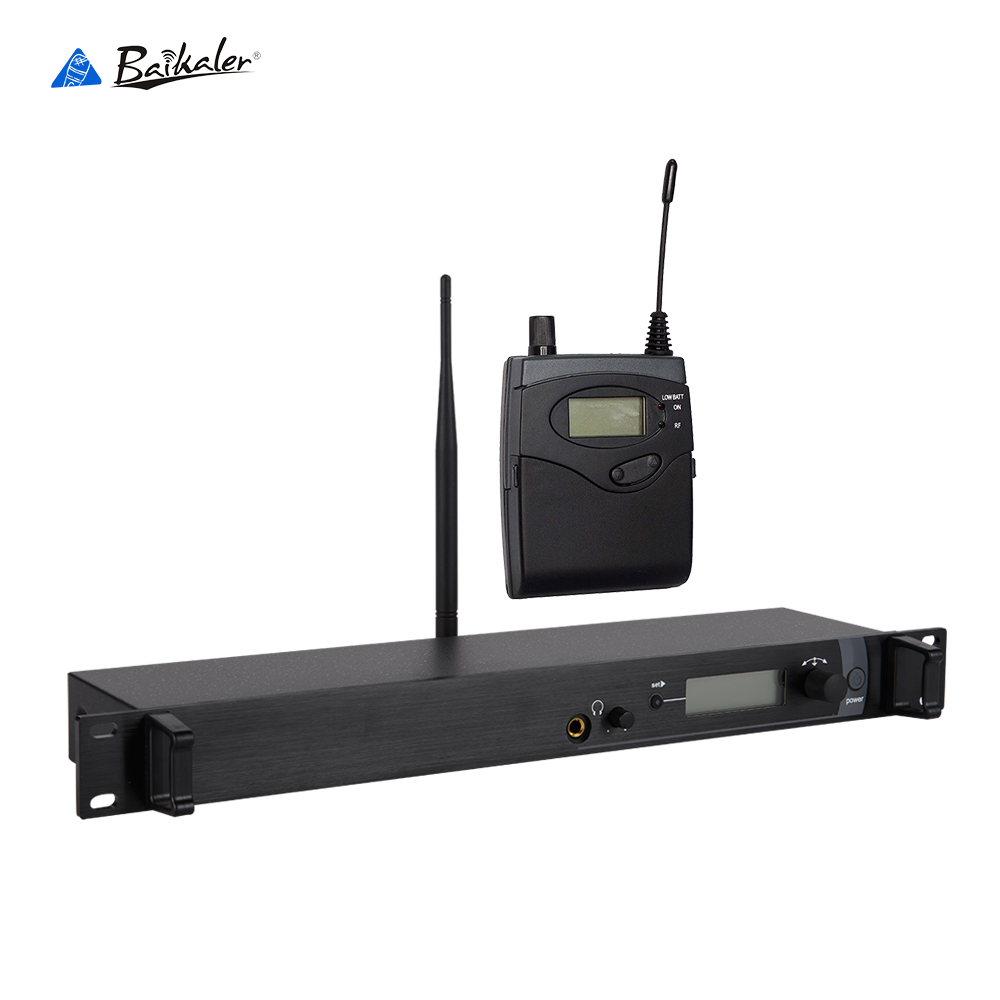 Baikaler BK-2000 Cost-effective wireless monitoring system wireless in ear monitor system for stage