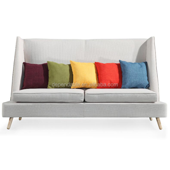 High Back 2 Seater Designers Sofa Furniture Replica