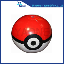 Custom cartoon 40cm inflatable PVC pokemon beach ball in stock